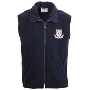Schooltex Clayton Park Polar Fleece Vest with Embroidery