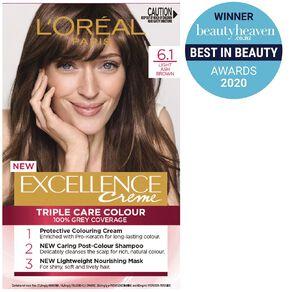 L'Oreal Paris Excellence Creme Light Ash Brown 6.1