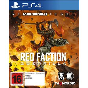 PS4 Red Faction Guerilla Re-Mars-tered
