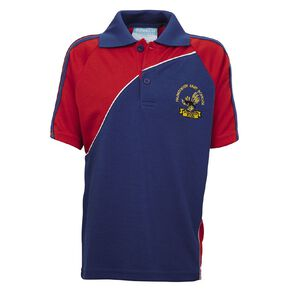 Schooltex Papatoetoe East Short Sleeve Polo with Embroidery