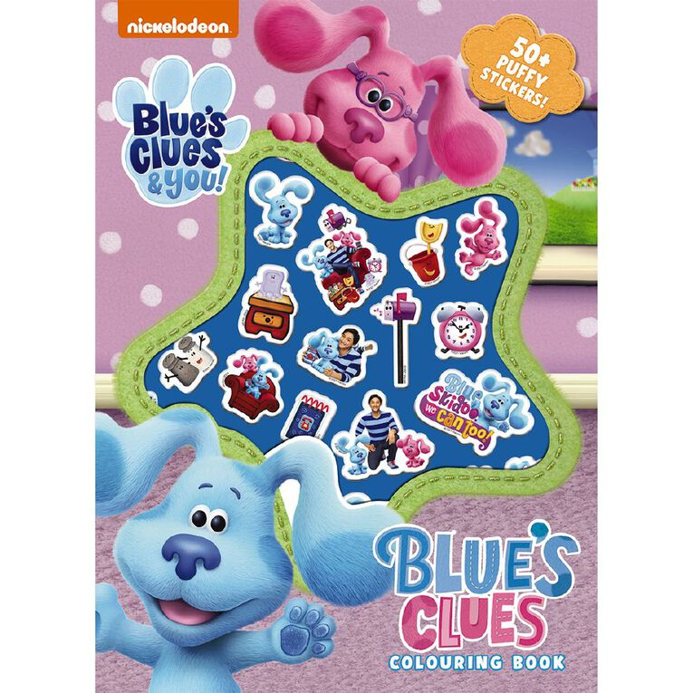Blues Clues: Puffy Stickers, , hi-res