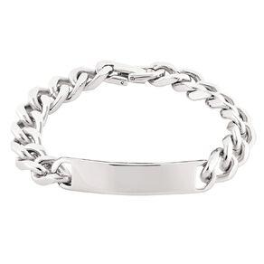 Impulse Stainless Steel Men ID Bracelet 22.5cm