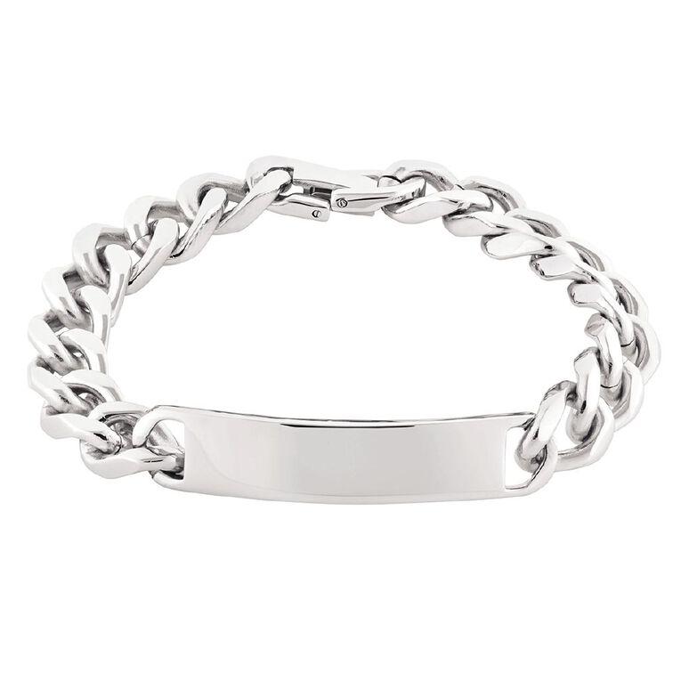 Impulse Stainless Steel Men ID Bracelet 22.5cm, , hi-res