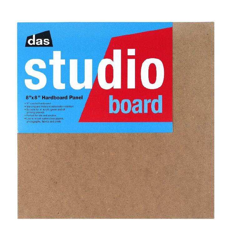 DAS Studio 3/4 Hardboard 8 x 8 Brown, , hi-res