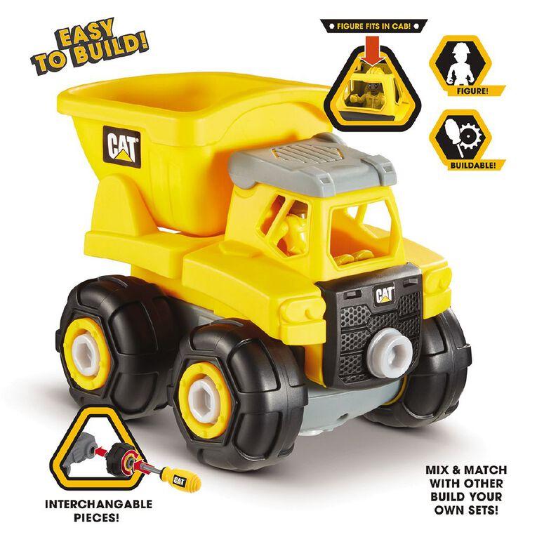 Caterpillar Build Your Own Vehicle Junior Crew Assorted, , hi-res