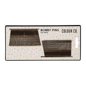 Colour Co. Hair Bobby Pins Brunette 4.7cm 100 Pack