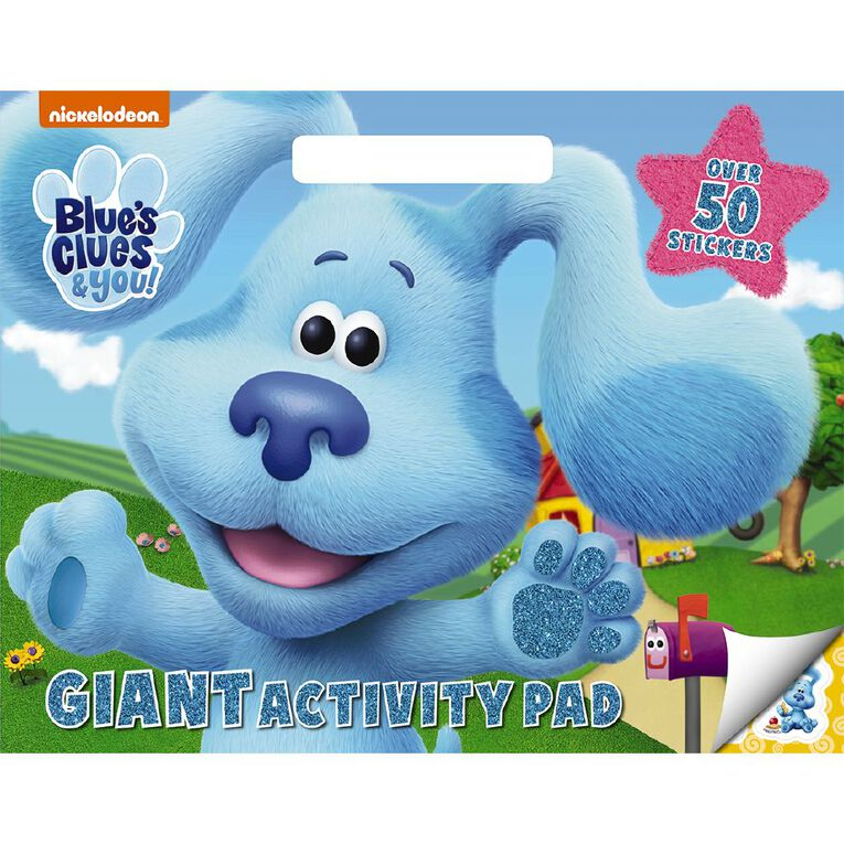 Blues Clues and You Giant Activity Pad, , hi-res