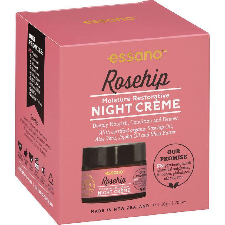Essano Rosehip Night Creme 50ml, , hi-res