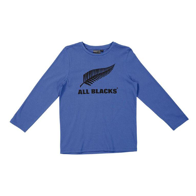 All Blacks Long Sleeve Print Tee, Blue, hi-res