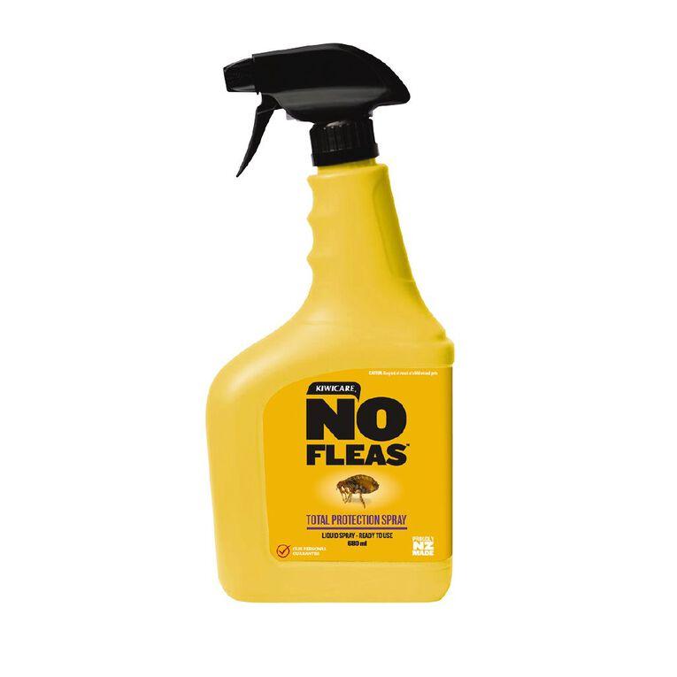 Kiwicare NO Fleas Total Protection Spray Ready To Use 680ml, , hi-res