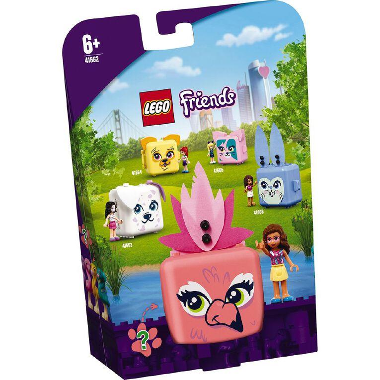 LEGO Friends Olivia's Flamingo Cube 41662, , hi-res
