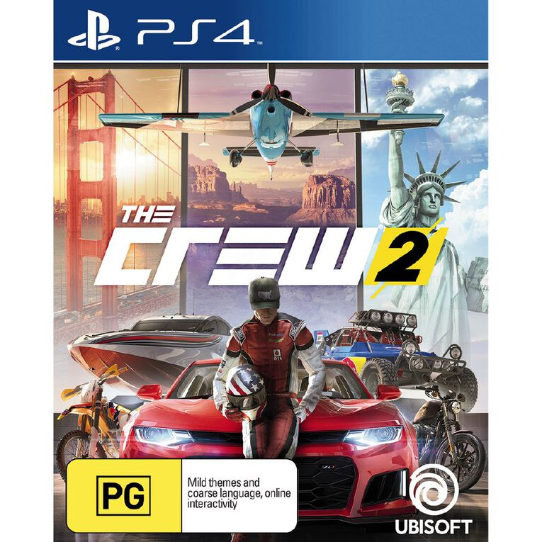 PS4 The Crew 2, , hi-res