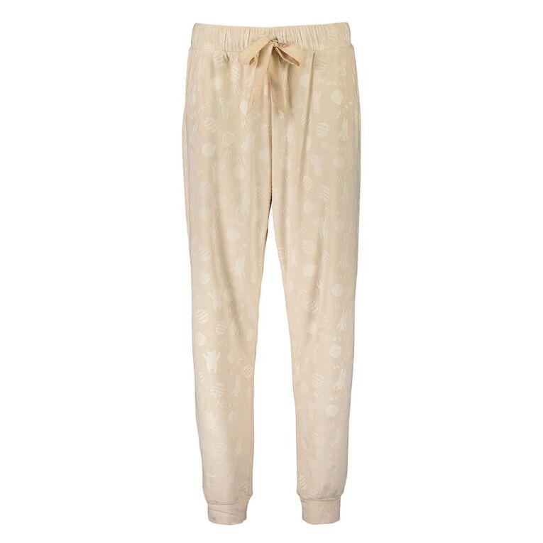 Winnie the Pooh Women's Pyjama Pants, Beige, hi-res