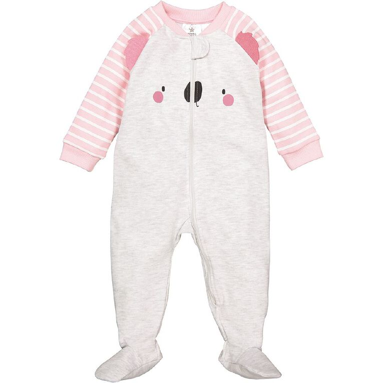 Young Original Baby Novelty Coverall, Grey Light, hi-res