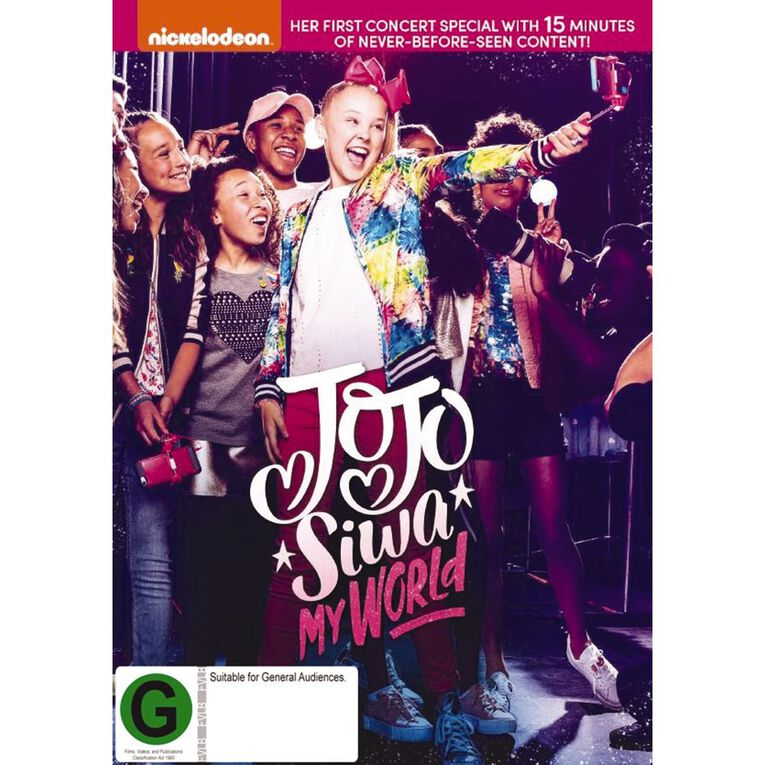 Jojo Siwa My World DVD 1Disc, , hi-res