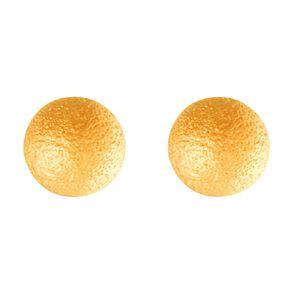 9ct Gold Stardust Ball Stud Earrings 4mm