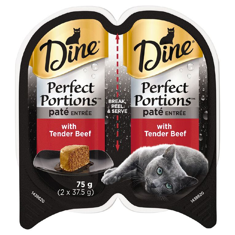 Dine Perfect Portions Pate Entree with Tender Beef 75g, , hi-res