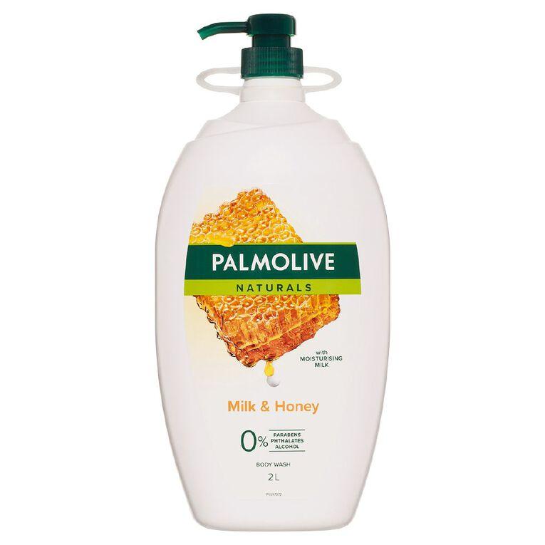 Palmolive Body Wash Milk & Honey 2L, , hi-res