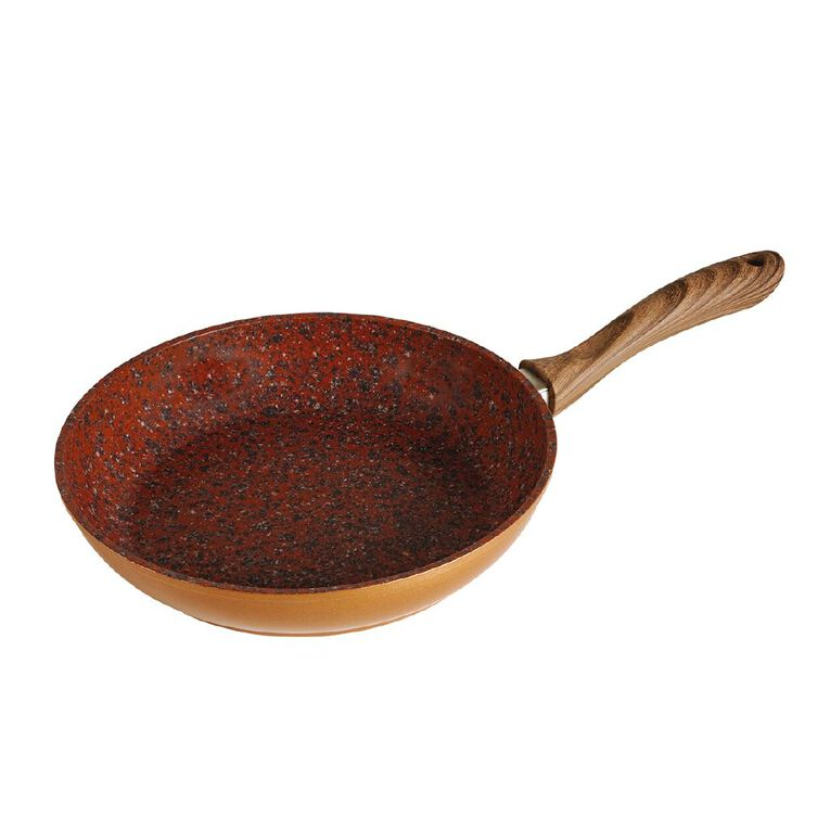 As Seen On TV 24CM Copper And Rock Pan, , hi-res