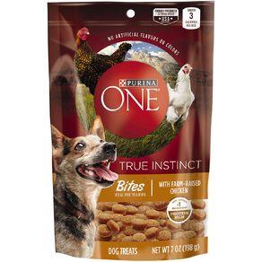 Purina One Dog Treats Bites Chicken 198g