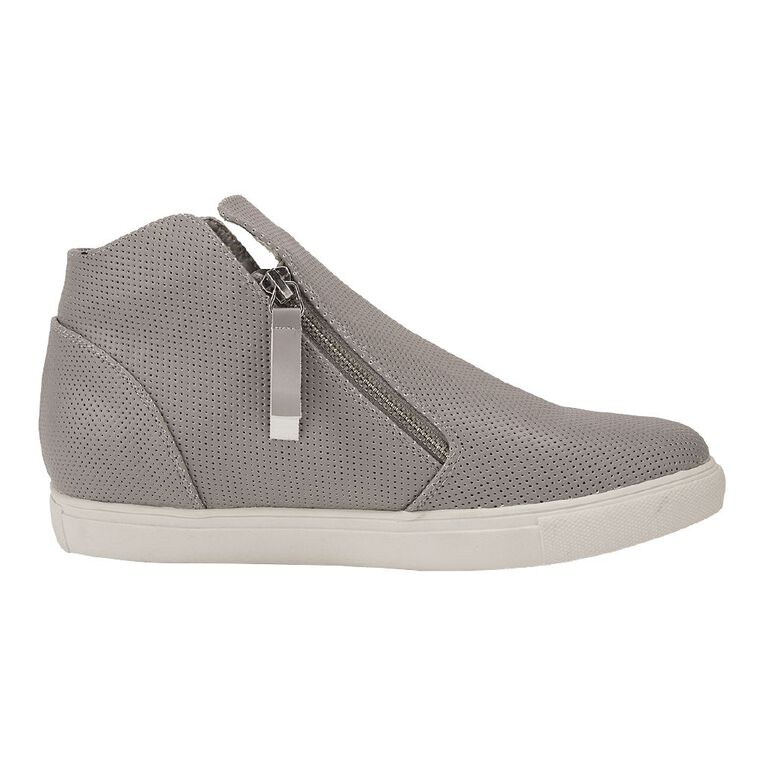 H&H Zippy Casual Shoes, Grey, hi-res image number null