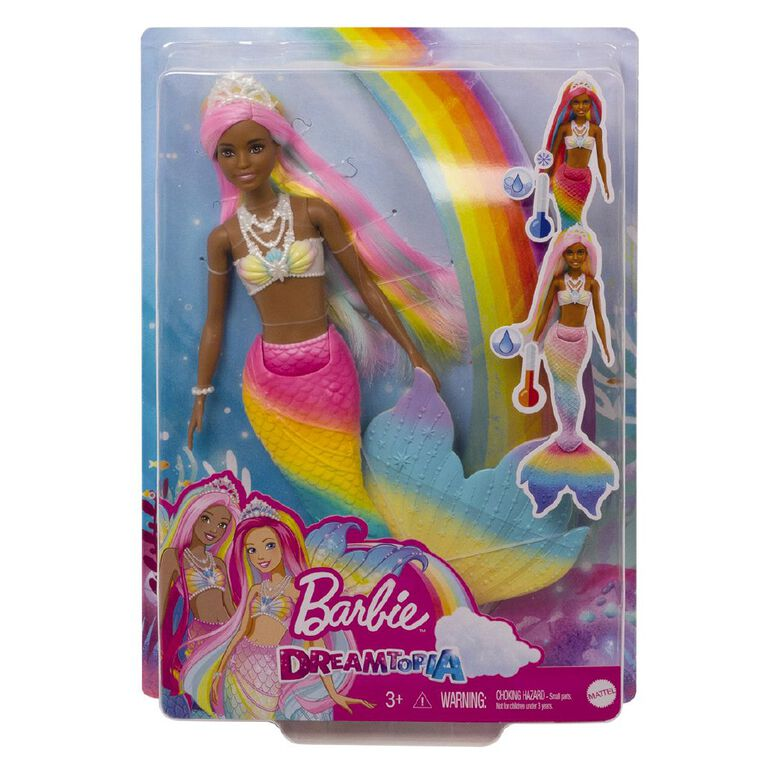 Barbie Colour Changing Mermaid Assorted, , hi-res