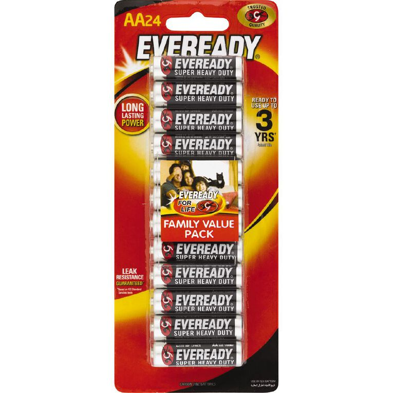 Eveready SHD AA 24Pk, , hi-res image number null