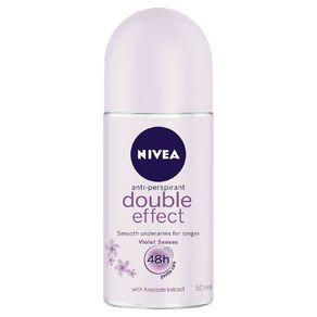 Nivea Roll On Deodorant Double Effect 50ml