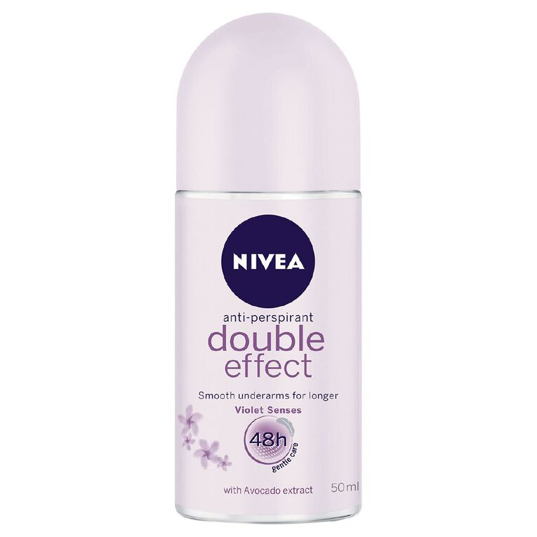 Nivea Roll On Deodorant Double Effect 50ml, , hi-res