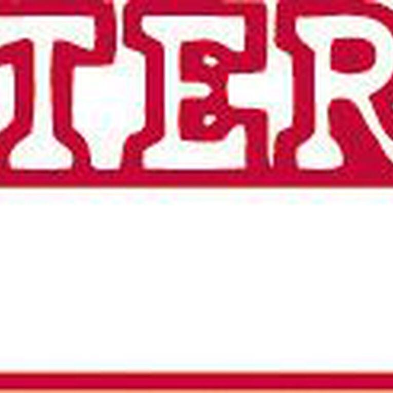 Xstamper Stamp Entered Date Red, , hi-res