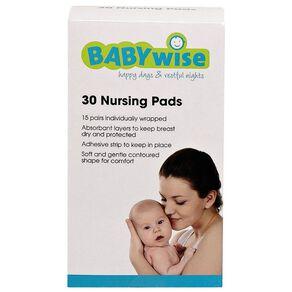 Babywise Nursing Pads 30 Pack