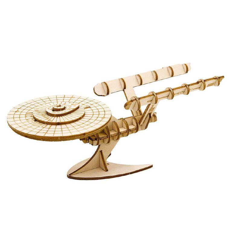 Star Trek Incredibuilds U.S.S Enterprise 3D Wooden Model, , hi-res