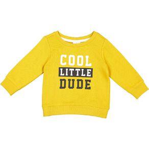 Young Original Baby Printed Sweatshirt