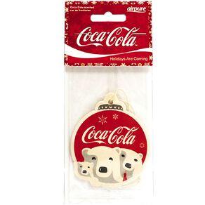 Coca Cola Single Air Freshner Christmas Polar Bear