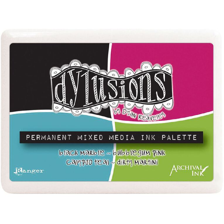 Ranger Dylusions Stamp Pad Mixed Media Palette, , hi-res