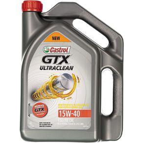 Castrol GTX Ultraclean 15W-40 4L