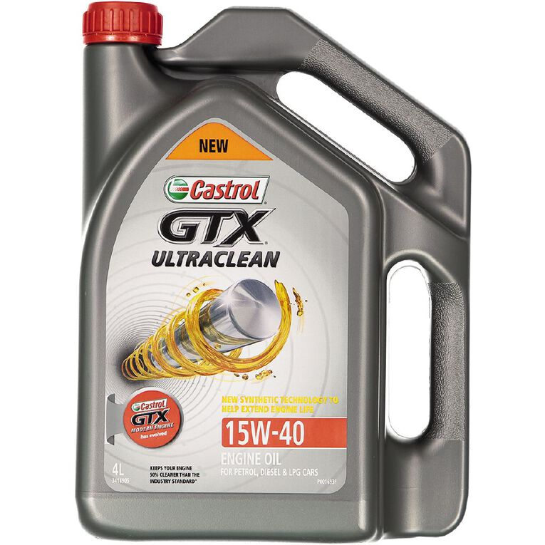 Castrol GTX Ultraclean 15W-40 4L, , hi-res