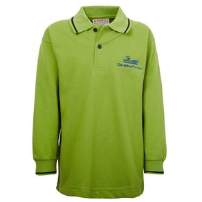 Schooltex Geraldine Long Sleeve Polo with Embroidery