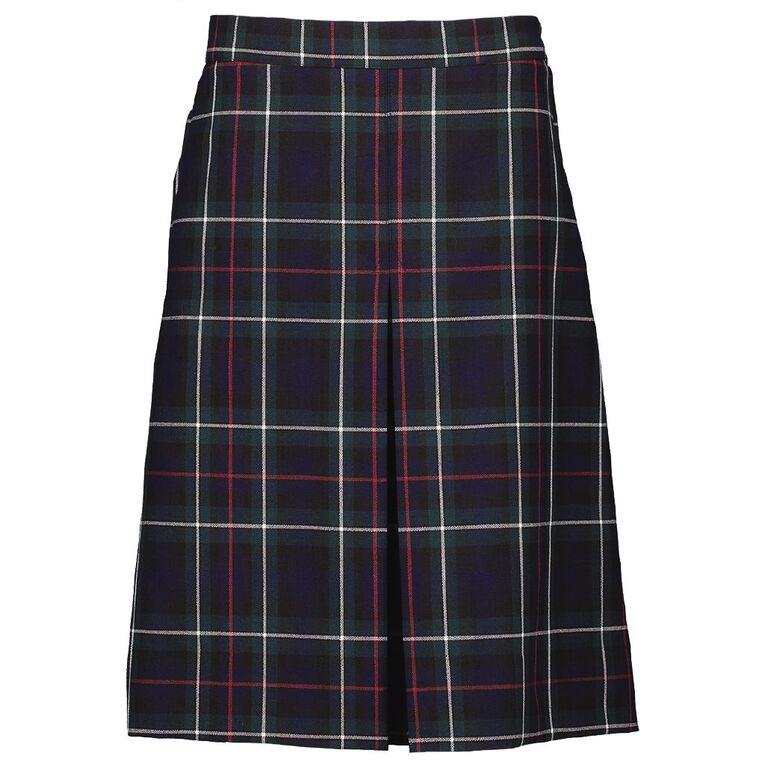 Schooltex Single Inverted Tartan Pleat Skirt, Schooltex Tartan TRT011 OLD SI, hi-res