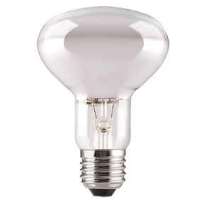 General Electric Incadescent E27 Reflector Bulb R80 Frosted 100w