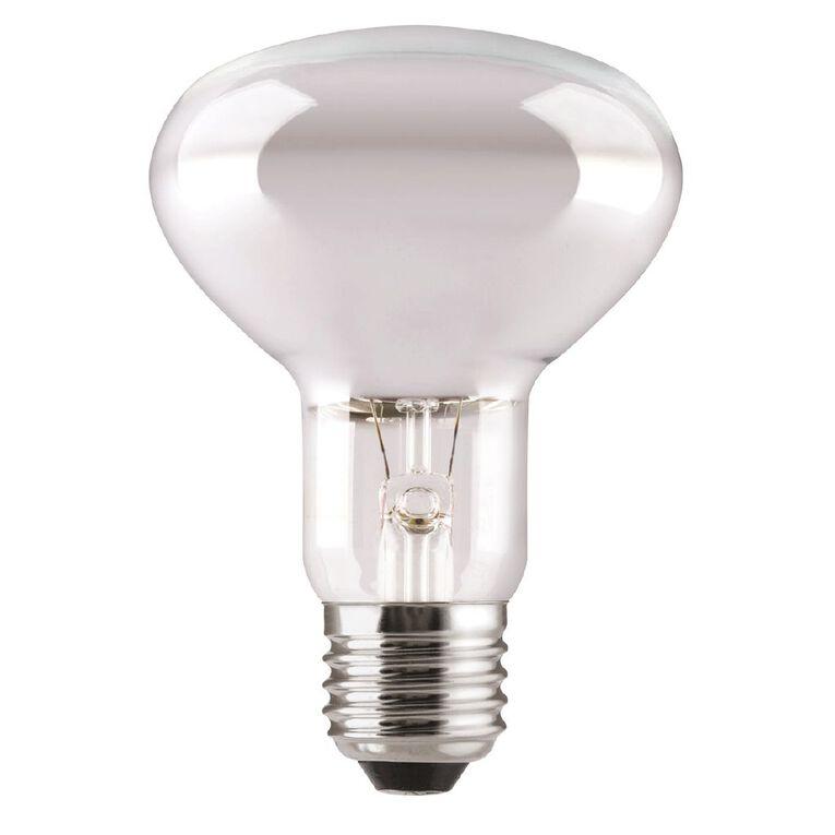 General Electric Incadescent E27 Reflector Bulb R80 Frosted 100w, , hi-res