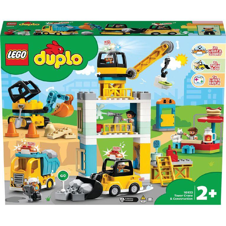 LEGO DUPLO Tower Crane and Construction 10933, , hi-res