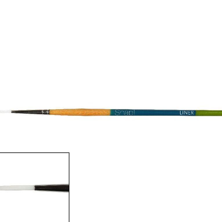 Princeton Snap Sh Taklon Liner 4 White, , hi-res