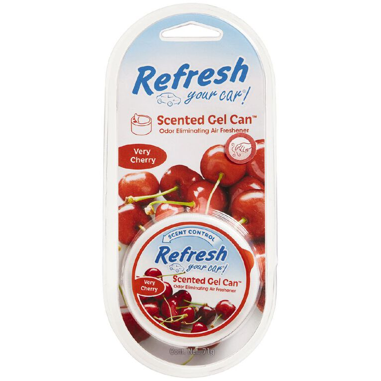 Refresh Your Car Gel Cannister Very Cherry 71g, , hi-res