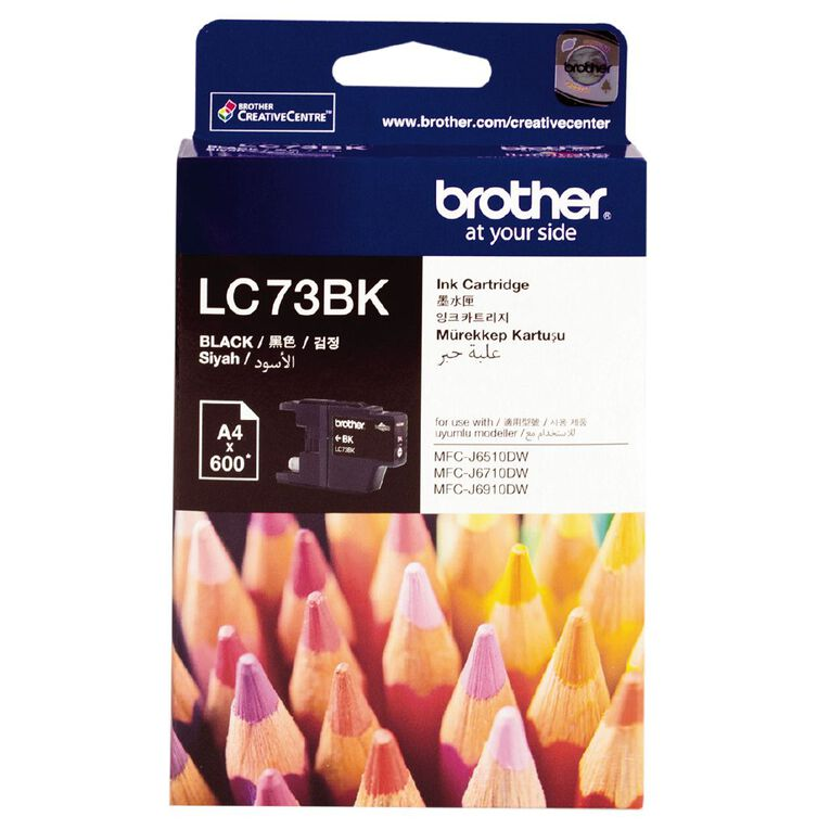 Brother Ink LC73 Black (600 Pages), , hi-res
