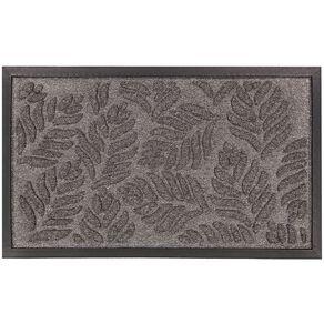 Living & Co Textured Door Mat Grey 45cm x 75cm