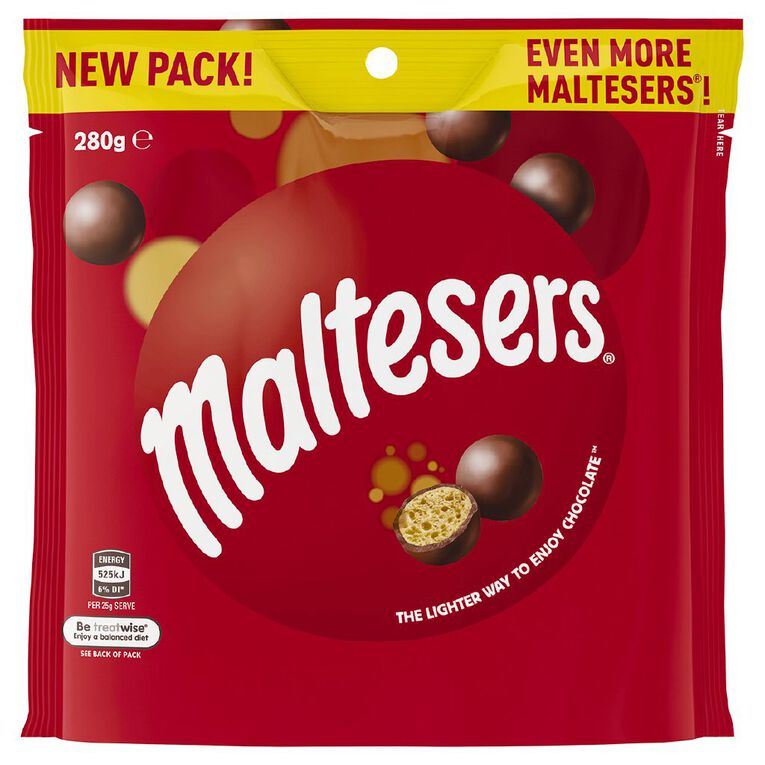 Maltesers Pouch 280g, , hi-res