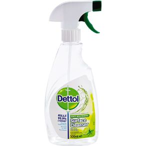 Dettol Antibacterial Surface Cleanser Lime & Mint Disinfectant 500ml