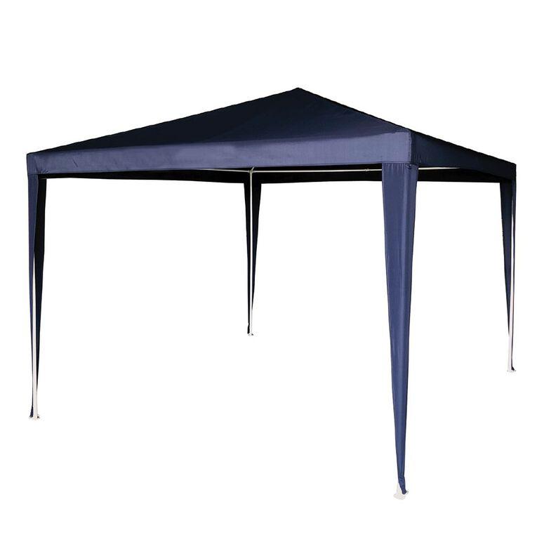 Living & Co Gazebo Blue 3m, , hi-res