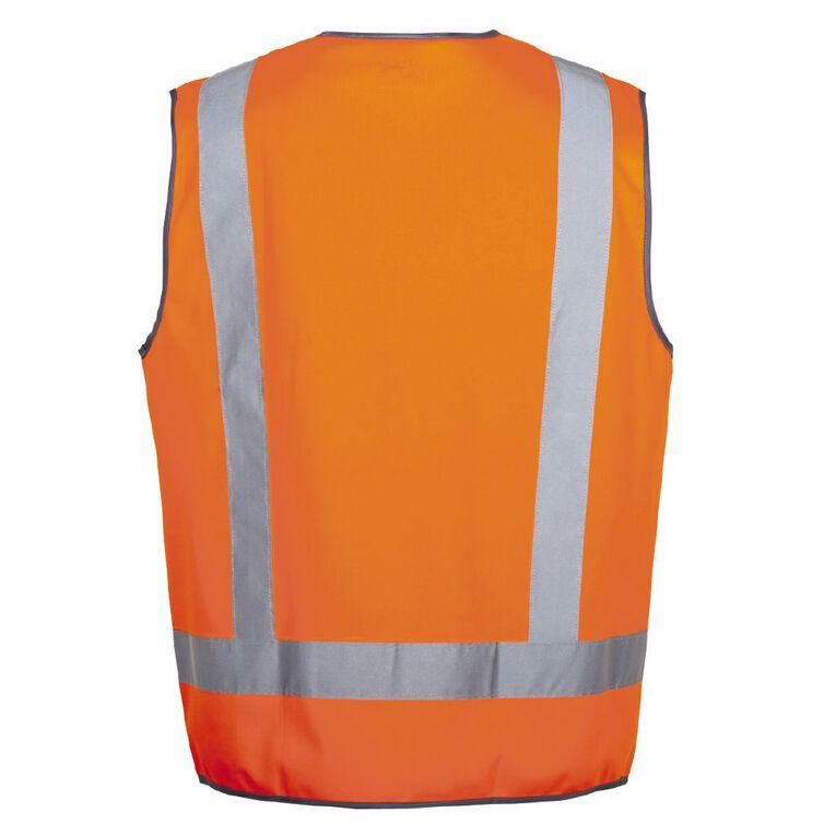 Rivet Hi Vis Vest, Orange, hi-res